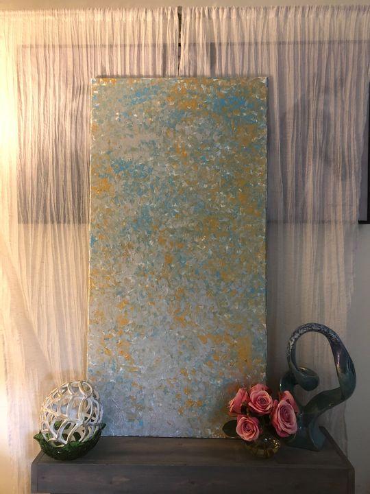 Acrylic hand painting - Amanda E. Bryant