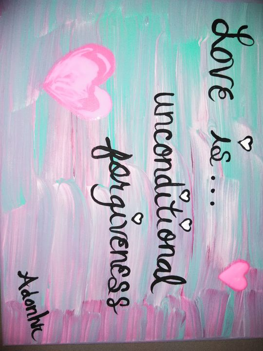 Love is... - Little Afro Girl