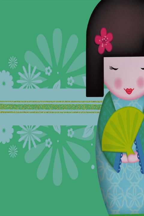 Little Geisha Green - .::MoonDreams::. Designs