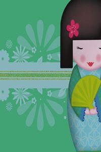 Little Geisha Green