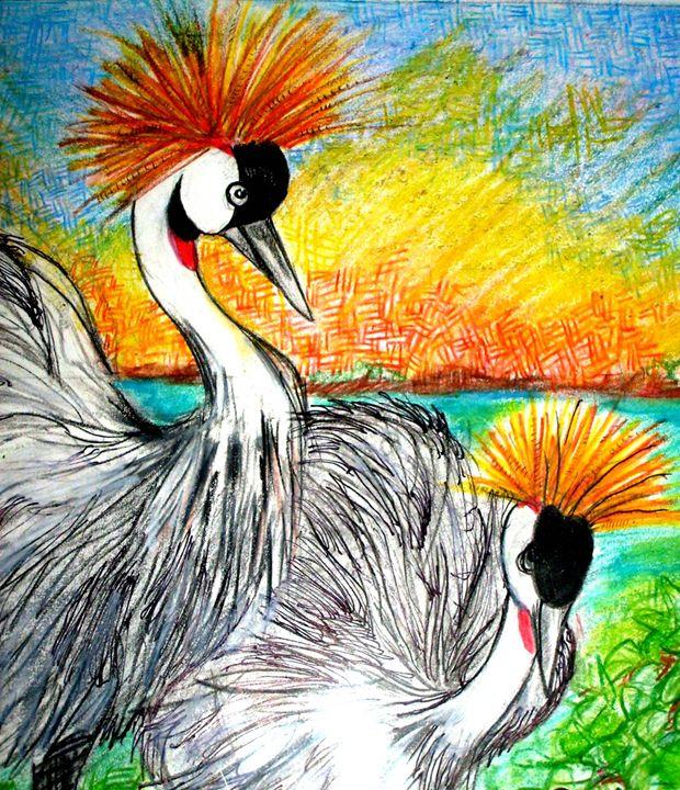A Pair Of Birds - JB EDIFY STUDIO