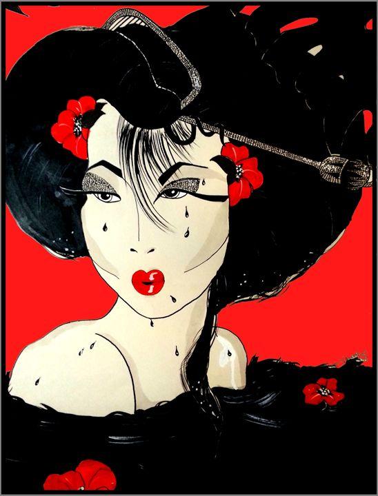 The China Girl in Red - JB EDIFY STUDIO