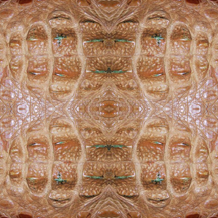 Hornback Alligator Skin - BranaghBel Art