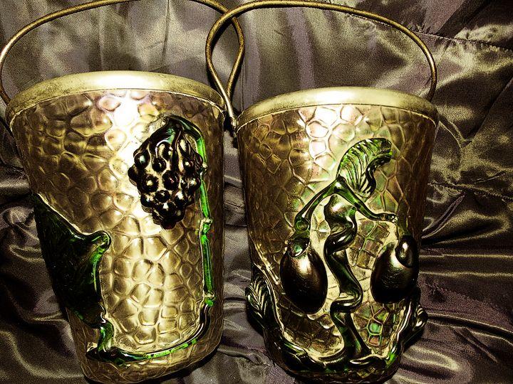 Luxury Antiques - Handled Ice Bucker - BranaghBel Art