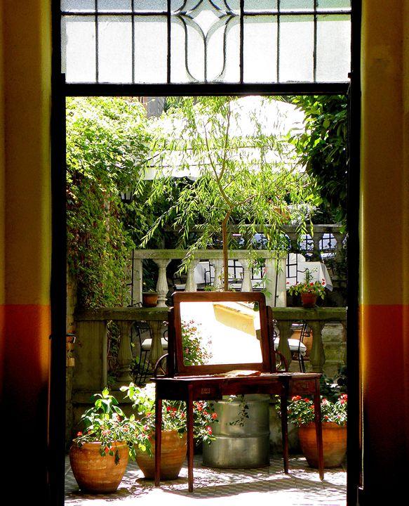 Entrance To The Garden - dadaart
