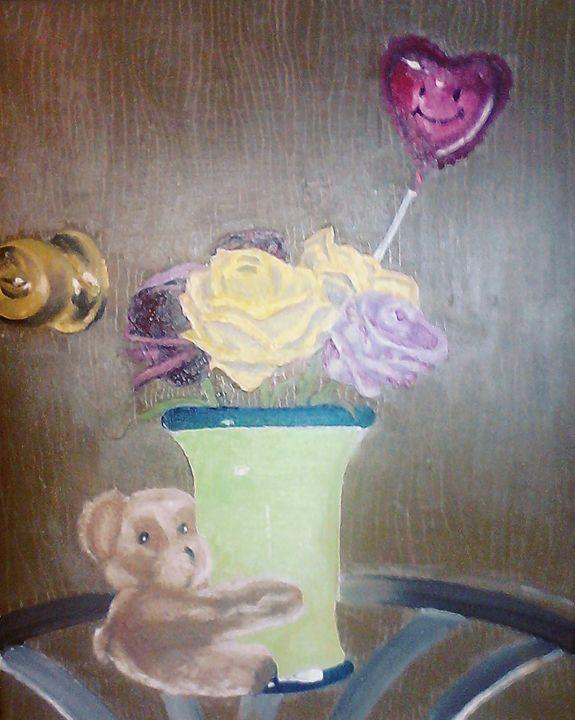 Flower Bear - Fun Stuff By Ben.