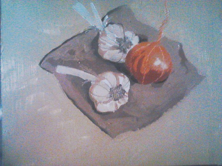 Garlic and Onion - Fun Stuff By Ben.