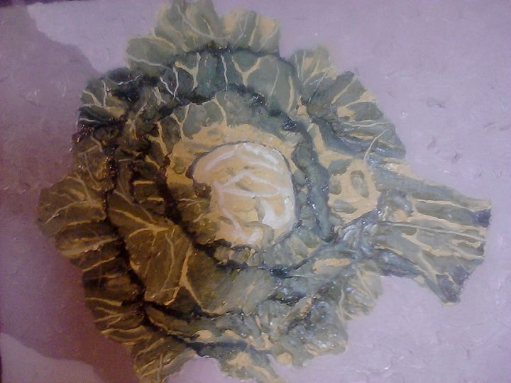 Impasto Cabbage - Fun Stuff By Ben.