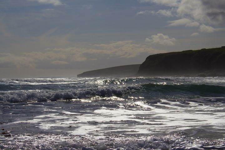 Dingshowe Beach Dramatic Sky - CibArt