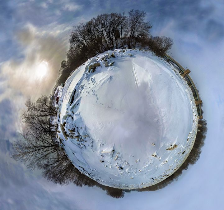 Planetoid - Winter Planet - Casey Becker