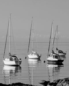 Sailing Boats, Millport, Scotland