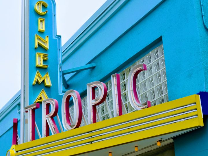 Cinema, Key West, Florida - Gemo Art