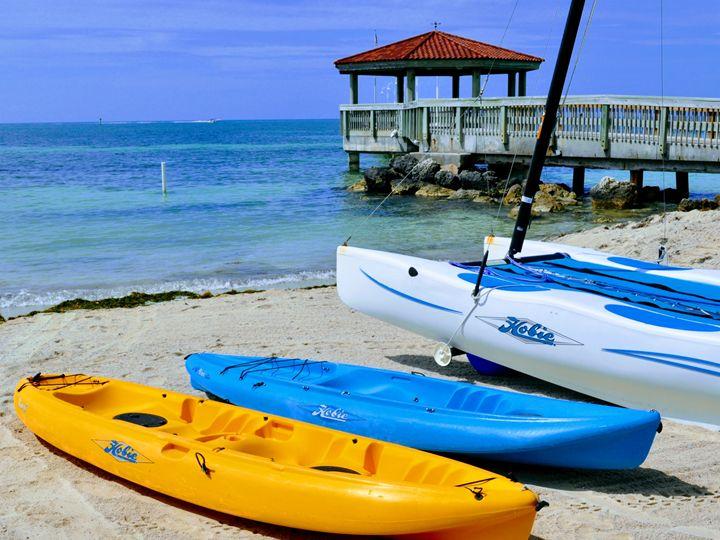 Canoes, Key West, Florida, USA - Gemo Art