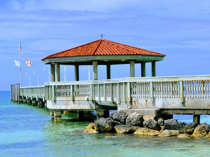 Pier, Key West, Florida - Gemo Art