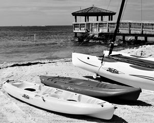 Canoes, Key West, Florida, USA
