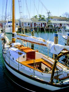 Sailing Boat, Nantucket, USA - Gemo Art