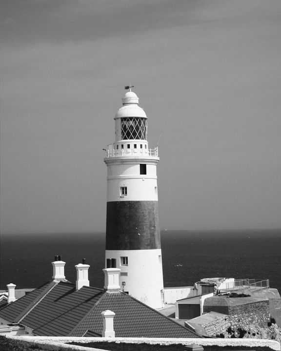 Lighthouse, Gibraltar - Gemo Art