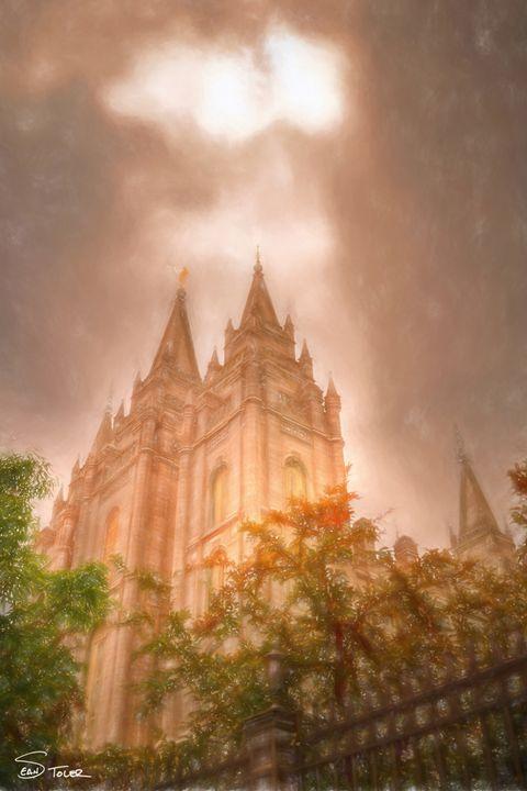 """Heaven Let Your Light Shine Down"" - Sean Toler Photo"