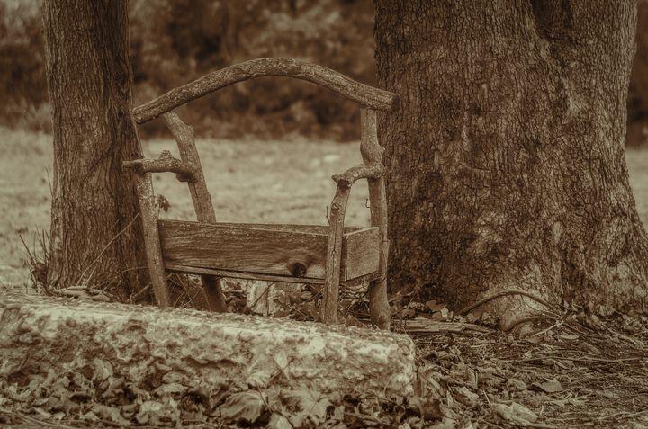 The Old Backyard Chair - Sean Toler Photo