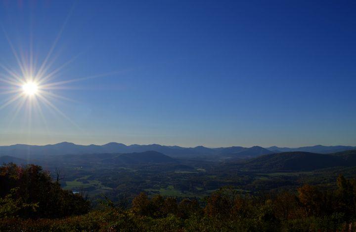 Beautiful Blue Ridge Morning - Sean Toler Photo