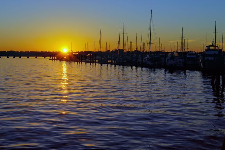 Harbor Sunset - Sean Toler Photo
