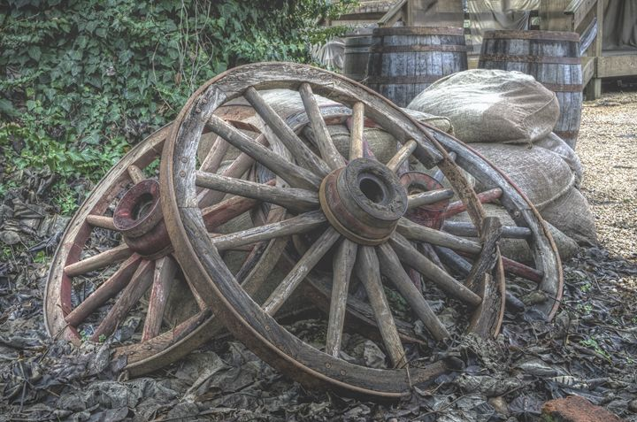 Wheels of Misfortune - Sean Toler Photo