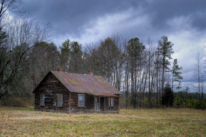 Abandoned House in Amelia County, VA - Sean Toler Photo