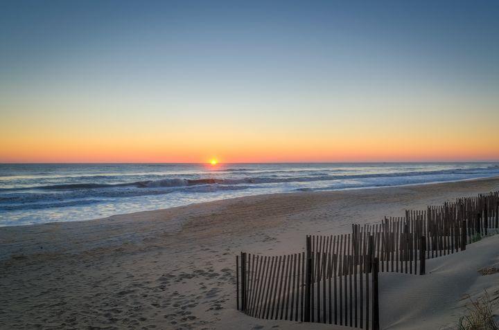 Autumn Beach Sunrise - Sean Toler Photo