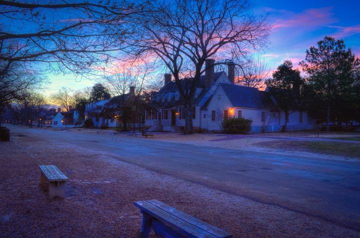 Dawn in Colonial Williamsburg - Sean Toler Photo