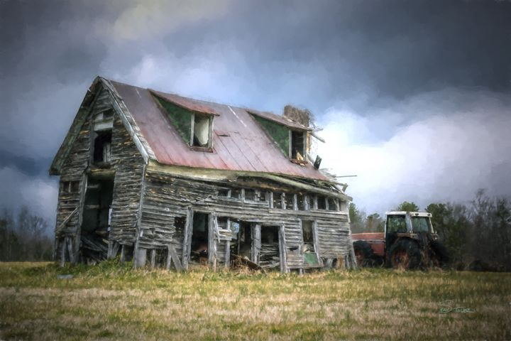 Abandoned Farmhouse - Version 2 - Sean Toler Photo