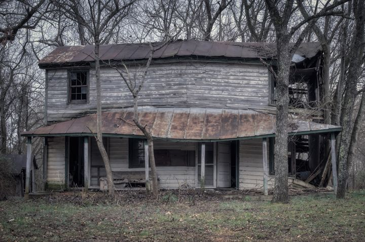 THe Old House in the Woods - Sean Toler Photo