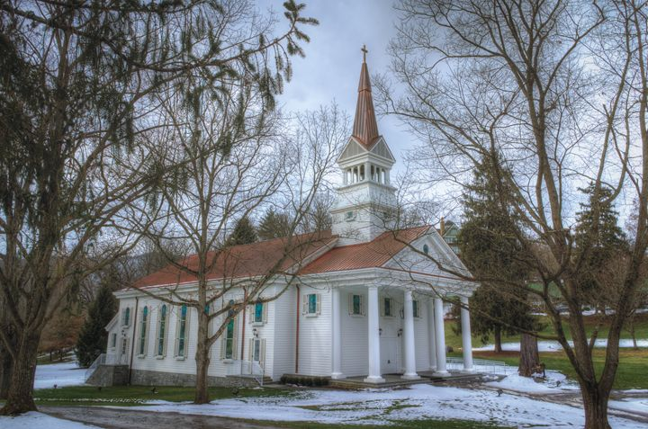 Little Chapel in the Snow - Sean Toler Photo
