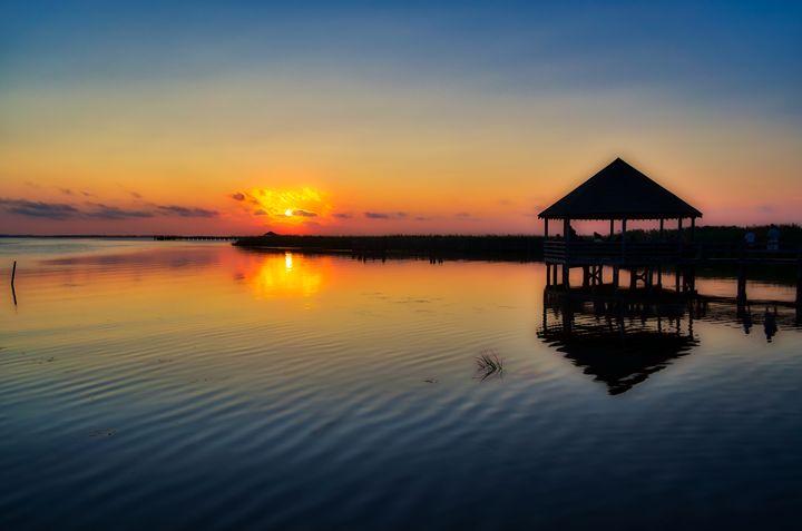 Sunset Observers - Sean Toler Photo