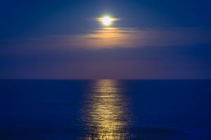 Moonrise in the Outer Banks