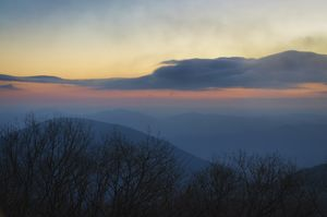 Dawn on the Blue Ridge