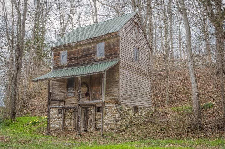 Old Rocketts Mill House - Sean Toler Photo