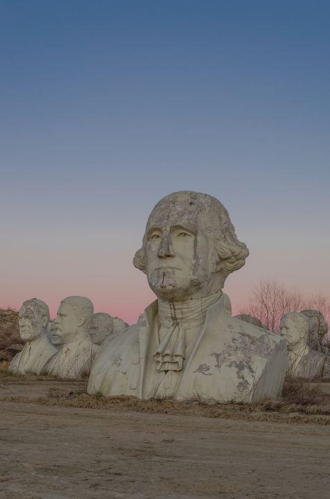 Decaying Presidents - Sean Toler Photo
