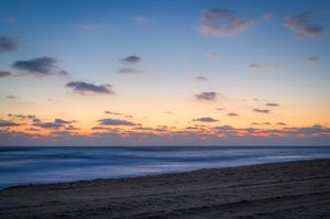 Blended Waves at Dawn