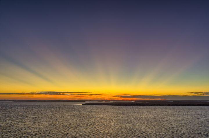 Standing on the Edge of Nightfall - Sean Toler Photo