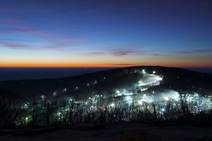 Dawn Over Wintergreen Resort