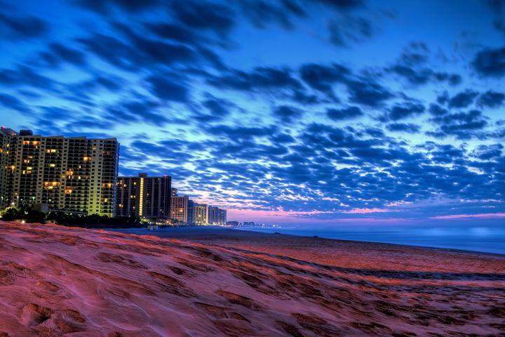 Blue Hour in Myrtle Beach, SC - Sean Toler Photo
