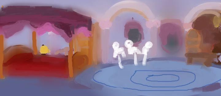 Rarity's house - Artpenzil