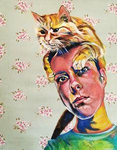 'A cat person'