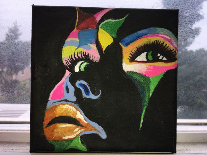 Colorful Lady - Jennifer $alguero <3