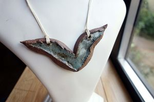 Funky Ceramic Necklace