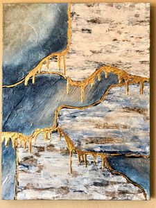 The Melting - Tara Jacobi - Jacobi Acrylic Art