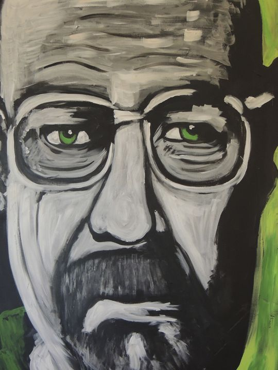 Walter White Breaking Bad - Eyes on the wall