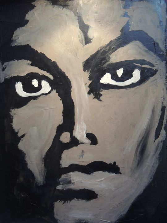 Michael Jackson - Eyes on the wall