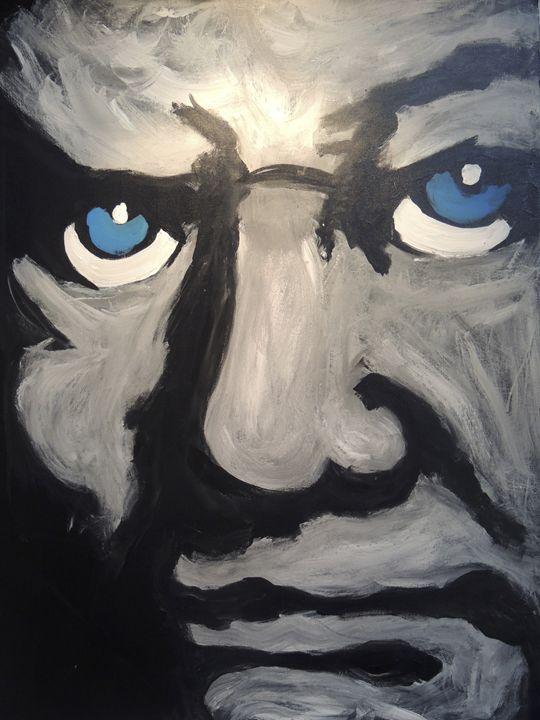 Winston Churchill - Eyes on the wall