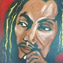Bob Marley Acrylic on Canvas
